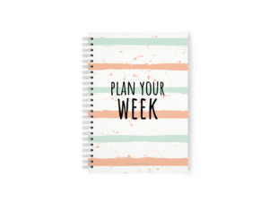weekplanner maken